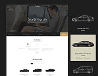Prodrive - Limousine, Transport, Car Hire Website