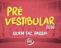 Pré Vestibular 2016 - CRA