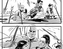 The Scorpion King: Book Of Souls - Storyboards
