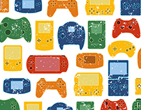 Illustration pack for gamers