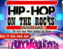 Hip Hop on Rocks Board Game Design
