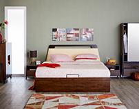 Zara Bedroom for Home Centre India