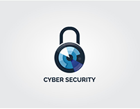 Cyber Security readymade logo design