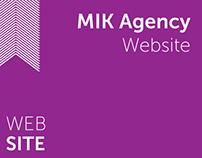 MIK Agency Website