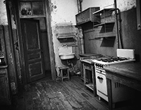"Process of work ""Communal kitchen, 1972 ."""