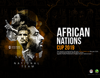 AFRICA NATIONS CUP POSTER DESIGN 2019