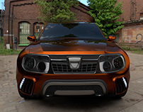 Duster 2015 concept 3ds Max