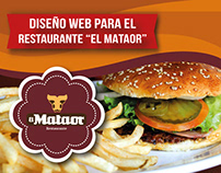 Página web - Restaurante El Mataor
