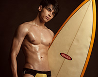 """ Surf boy "" William Naas"