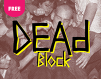 Dead-Block (Free Font)
