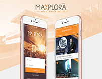 Maxplora - Mobile App, Singapore