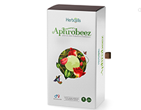 Aphrobeez Package design