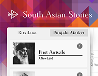 South Asian Stories — UX/UI