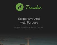 Traveler WordPress Theme - Banner