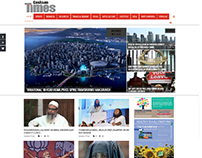 Website Design for Can Asian Times