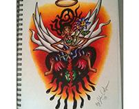 Custom Tattoo Flash #35