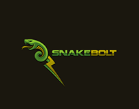 Exclusive Customizable Logo For Sale: Snake Bolt