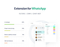 Whatsper - Extension for WhatsApp