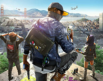 Watch Dogs 2 EMEA Marketing Website