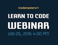 Learn to Code - Webinar Advertising Kit