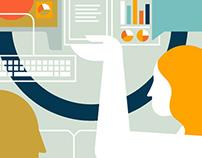 Career Path infographics/ads