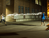 UO Light Painting