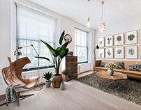 Living Room, Kentish Town Road, London, Uk