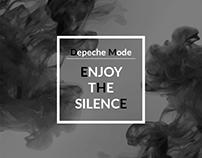 Design vinyl cover Depeche Mode