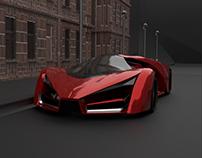Ferrari F80 3D Model