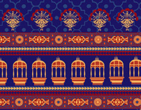 Ethnic Wear-Print Development
