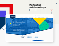 Masterplast website redesign