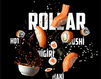 Sushiroom menu