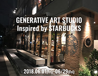 個展 at STARBUCKS
