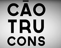 Motion Typography - Construção, Chico Buarque