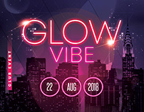 Glow Vibe - PSD Flyer Template