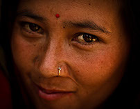 Study of a Woman of Chhaimale, Nepal