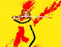 Kill Bill, alternative movie / film poster.