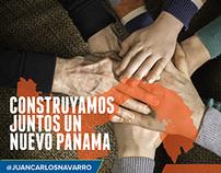 Juan Carlos Navarro / 2014 Panama Presidential Campaign