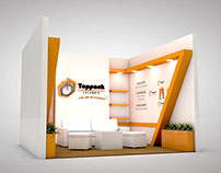 Design of exhibition stand