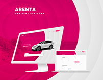 Arenta - Car Rent Web UI kit