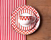 Linha Flamingo Baltic - Oxford Porcelanas