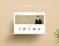 STYFI Website Design