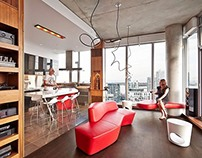 Fichman Penthouse by Regionalarchitects