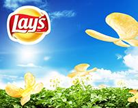Lays / рекламный постер