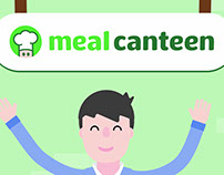 Meal Canteen - Visual ID & motion designs