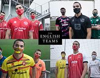 The English Teams | Jersey + Mask | Shooting