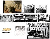 Automotive storyboards