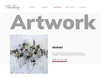 UI Design for Vicki Denaburg Art Studio
