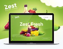 Landing Page - Fruits