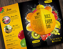 Fresh Juice Flyer